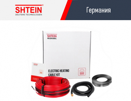 Кабель SHTEIN Heizkabel DS18 Red